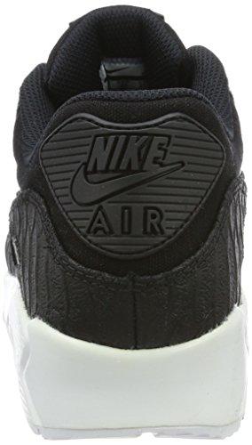 Nike Air Max 90 Premium, Sneakers Basses Homme Noir (White)