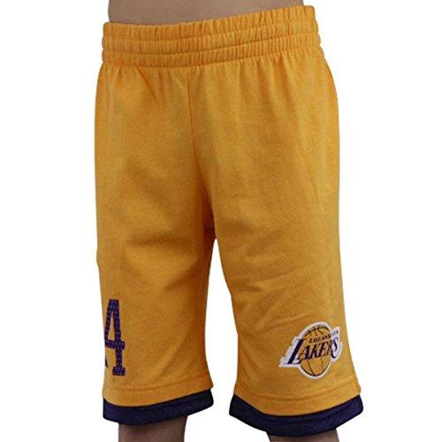 adidas NBA LA Lakers Kobe Bryant 24, Y SHORT PANT KID LAKERS, 152, AE2440