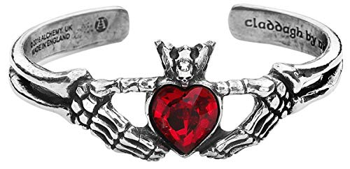 Alchemy Gothic Claddagh Bracelet Armreif Standard