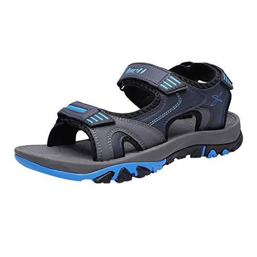 Kaister Sommer Männer Sandalen Atmungsaktive Outdoor Strand Sandalen Lässige Mode Wohnungen Schuhe Trekking Wanderschuhe