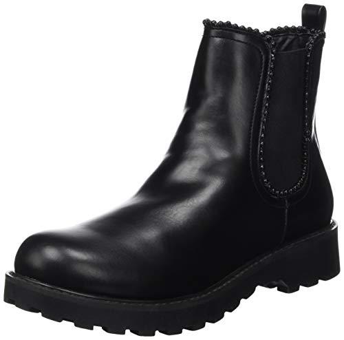 Guess Damen NOLA Chelsea Boots, Schwarz Black, 39 EU