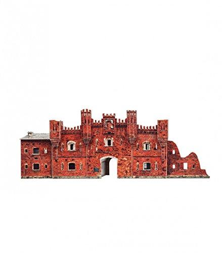 CLEVER PAPER- Puzzles 3D Puerta de Kholm Brest, Bielorrusia (14366)