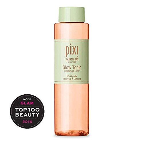Pixi Glow Tonic with Aloe Vera and Ginseng Oxygenating. Exfoliating facial glow tonic 250ml