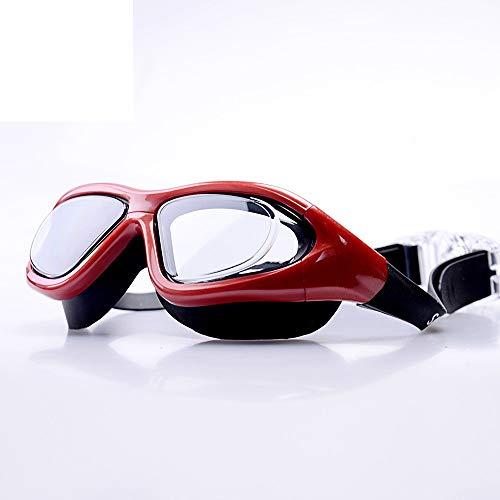 2a442c5bfe1941 Gafas de natación Gafas de natación antiniebla para exteriores HD para  adultos Gafas de natación con