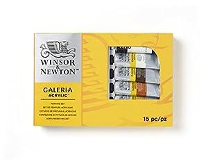 Winsor & Newton Galeria - Set completo de pintura acrílica