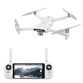 DishyKooker FIMI X8 SE 5KM FPV con Gimbal a 3 Assi 4K Camera GPS 33mins Tempo di Volo RC Drone Quadcopter RTF