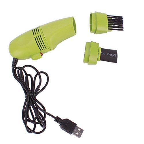 crispy Multi Use MINI Vacuum Cleaner for Laptop & computer USB 2.0 COMPATIBLE ( multi color )  available at amazon for Rs.295