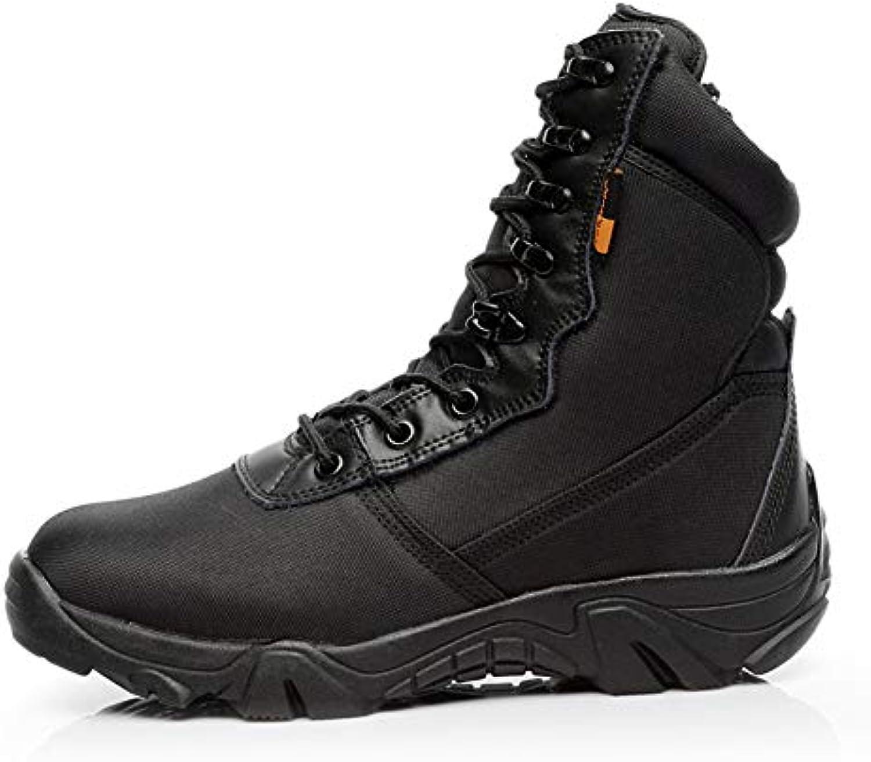 WQING Stivali da Alpinismo da Uomo Stivali da Trekking Stivali da Trekking ad Alta Resistenza Stivali da Deserto... | Forte valore  | Uomo/Donne Scarpa