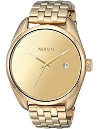 Nixon Women's 'Bullet' Quartz Stainless Steel Casual Watch, Color Gold-Toned (Model: A4182764)