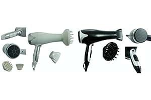 Kooper 2178275 Sèche-cheveux avec fonction ionique 2200 W, 2 couleurs assorties