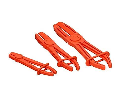 3pièces mini-colliers de serrage Kit tuyau abklemm Pince Pinces mini-colliers de serrage Coffret de pinces