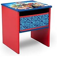 Preisvergleich für Delta Children FL86714PW Nachttisch, Holz, Bunt, 31.75 x 30.48 x 28.57 cm