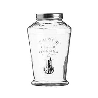 Kilner Glass Vintage Drinks Dispenser, Cocktail, 6 Litre