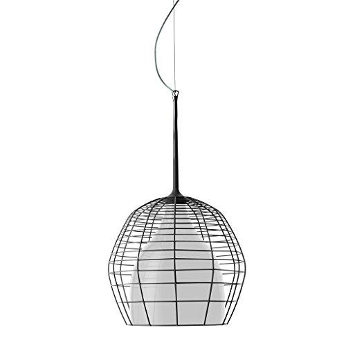 Diesel With Foscarini Cage Grand Lampe Suspendue Noire/Blanche