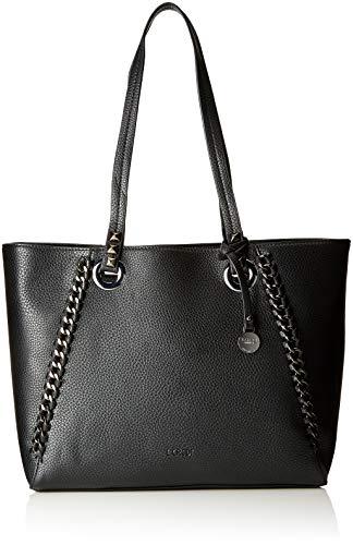 L.CREDI L.Credi, Sacs portés épaule femme - Noir - 43x28x12 cm