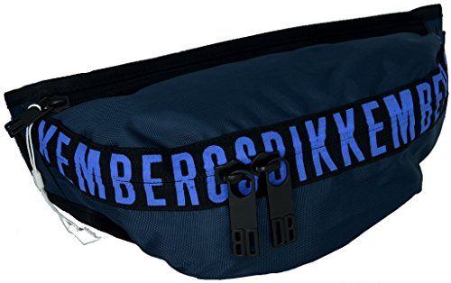 BIKKEMBERGS D6804 MARSUPIO A64 BLU Blu