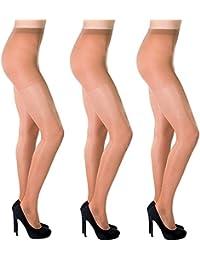Sisi Black Star Patterned Sheer 20 Den Lycra Ladies Tights Hosiery By Aurellie