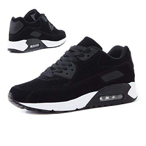 Crianças Ata Da Desporto Unissex Sneaker Tênis Aptidão Preto Velours Mulheres Homens Dos Sneakers Moda Acima qEztwtd0