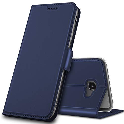 GeeMai für Samsung Galaxy J4 Plus Hülle, Samsung Galaxy J4+ Hülle Flip Case Wallet Stylish mit Standfunktion und Magnetisch Ledertasche Schutzhülle handyhüllen passt für Samsung Galaxy J4+ Phone