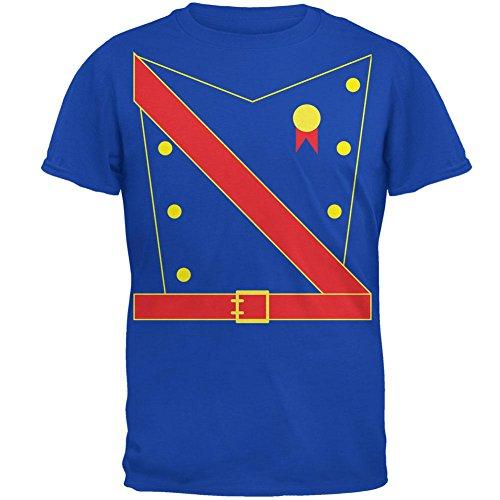Halloween Prinz King Royal Guard Kostüm Herren Soft T Shirt Royal SM