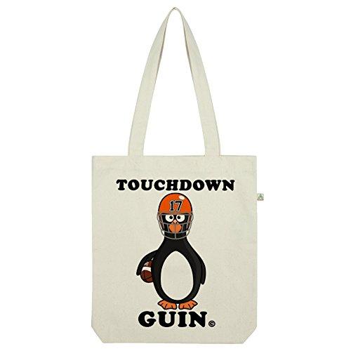 wn Guin Quarterback Pinguin Tasche Weiß weiß (Touchdown Kostüme)