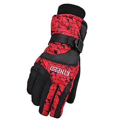 Herren Handschuhe Warm Wasserdichte Ski Handschuhe Ski Gear Snowboard Handschuhe, 01
