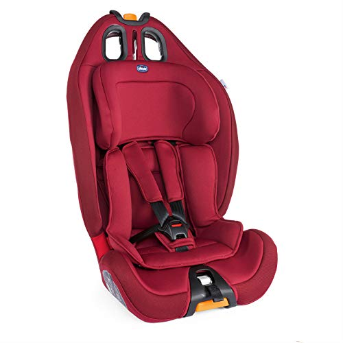 Chicco Gro-Up 123 Seggiolino Auto, Red Passion