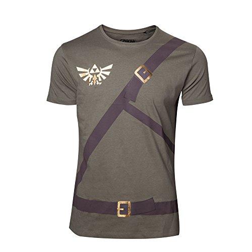 The Legend of Zelda Link Belt T-Shirt oliv Oliv