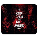 Elmax India Leep Claim And Kill Zombies Mouse Pad, Speed-Type Precision Gaming Mouse Pad, Non Slip Base