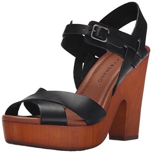 lucky-brand-nova-femmes-us-10-noir-sandales-compenss