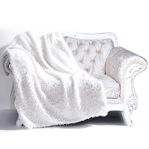 Cologo Kuscheldecke, Flauschige Decke, Mikrofaser Flanell Tagesdecke für Sofa & Sessel 130x160cm, Super Weiche Warme zweiseitige Fleecedecke & Sofadecke & Reisedecke