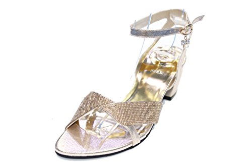 Wear & Walk UK , Sandales pour femme Or - doré