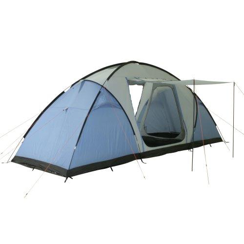 10T Weston 6 - 6 Personen Vis-A-Vis Geodät-Zelt 2 Schlafkabinen 3 Eingänge WS=5000mm