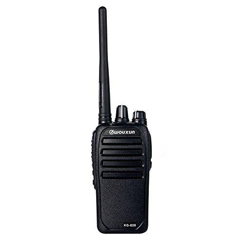 Walkie Talkie Funkgerät WOUXUN KG-828 10W VHF 136-174MHz 16chs 3200mAh Two Way Ham Radio wasserdicht IP66 PMR 446 handfunkgerät + Programmierkabel
