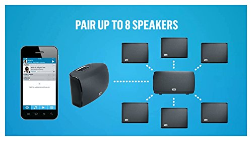 41zi7p6%2B%2BZL - Jam Audio Symphony Wireless Wi-Fi Speaker with Alexa built-in, Play 1 / Multi-Room, 2.1 Stereo Sound, Treble + Bass…