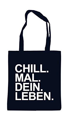 Chill Mal Dein Leben Bag Black