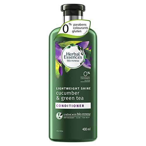 Herbal Essences Gurke und grünem Tee Glanz Spülung, 400ml - Ätherische Mischung Grüner Tee