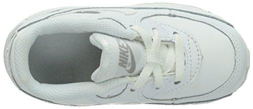 Nike Baby Nike Air Max 90 TD, Sneakers basses mixte enfant Blanc