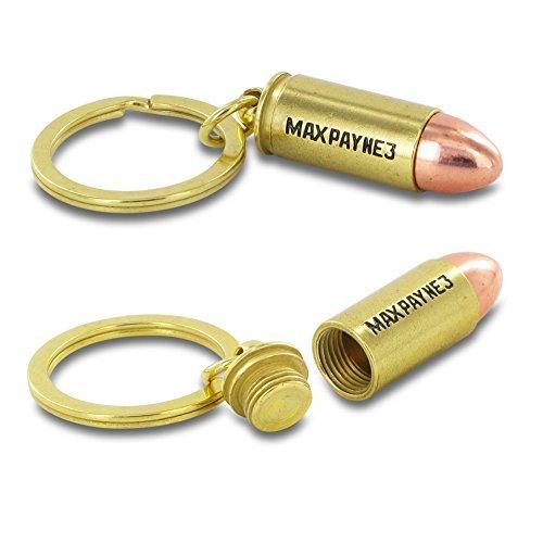 Preisvergleich Produktbild RockStar Games 170584 Max Payne 3 Special Edition Bullet Keychain by Rockstar