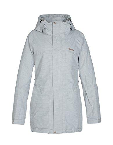 Zimtstern Damen Snow Jacket Jannaz Light Grey, XS