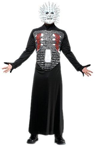 Hellraiser Kostüm Pinhead (Rasta Imposta hellraiser-pinhead Wirtschaft Erwachsene)