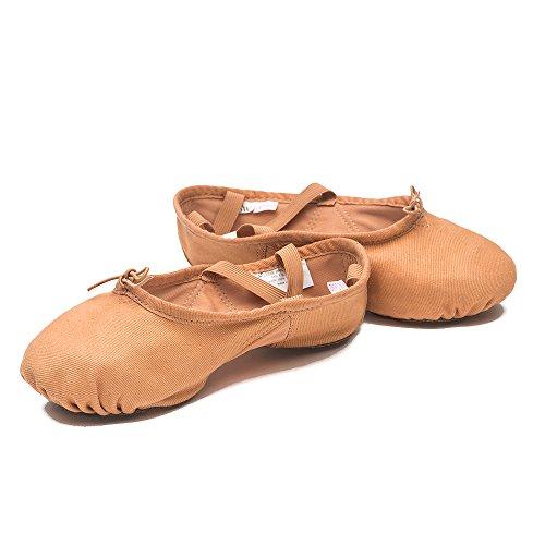 Sansha chiaro Scarpe PRO1C in modello 1C 52adulti danza Beige di Pantofole classica tela Iwa rrqZ1AO