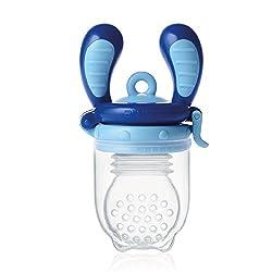 Kidsme Fruchtsauger Food Feeder Größe L (Aquamarin)