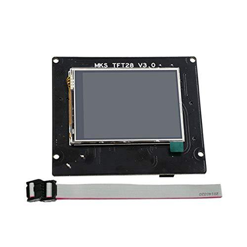 Piezas de la impresora 3D Módulo MKS TFT28 Pantalla táctil a todo color Módulo inalámbrico WiFi Controlador WiFi APP para Smoothieware
