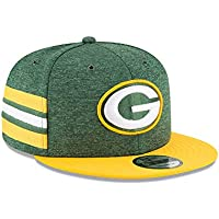 New Era NFL Green Bay Packers Authentic 2018 Sideline 9FIFTY Snapback Home Cap