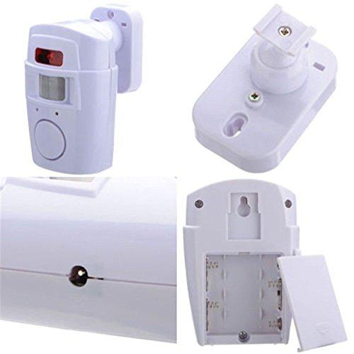 Lumpur Türalarm Infrarot-Fernbedienung Drahtlose, batteriebetriebene, intelligente Diebstahlsicherung