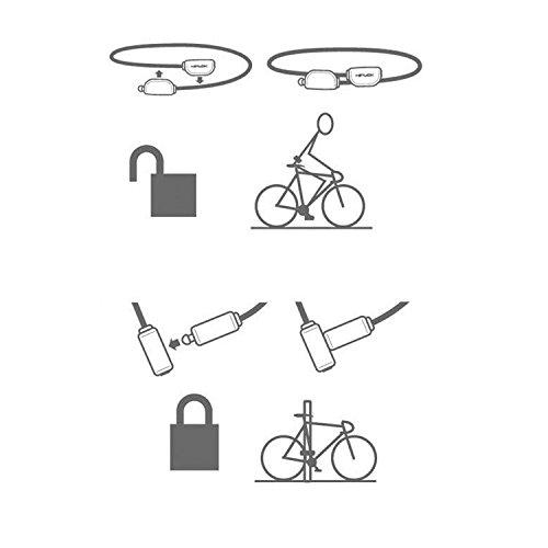 Hiplok Unisex Pop Lock Fahrradschloss Limone Grün