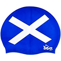 New Scotland Flag Patriotic Silicone Swimming Cap