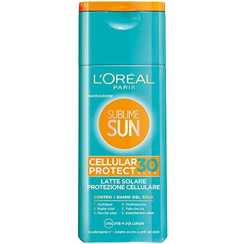 loral-paris-sublime-sun-cellular-protect-latte-solare-protezione-cellulare-ip-30-200-ml