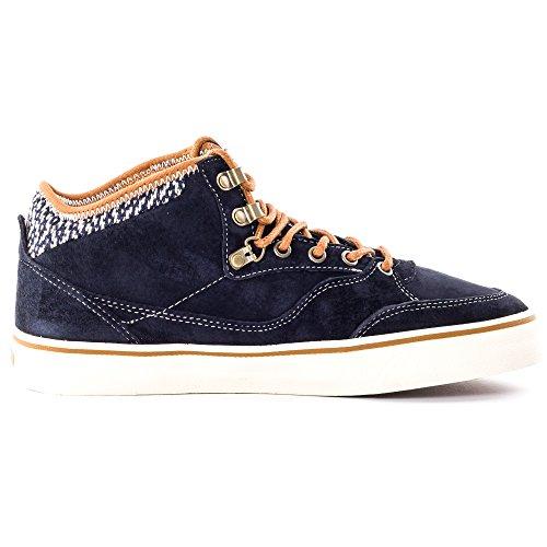 Vans M Buffalo Mte, Chaussures en Forme de Bottines Homme Gris Oscuro